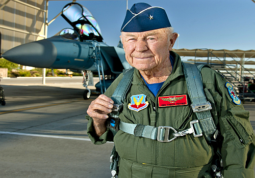 R.I.P. General Chuck Yeager - Celebrities - Trend Magazine Online